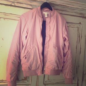 Pink Bomber Gold Accent